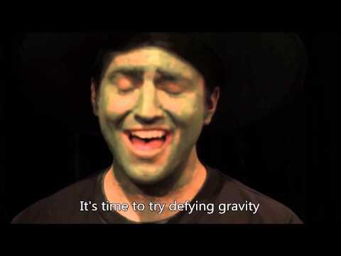 (2/5 of) Pentatonix [Superfruit] - Defying Gravity (HD LYRICS)