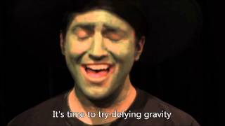 (2/5 of) Pentatonix [Superfruit] - Defying Gravity (HD LYRICS)