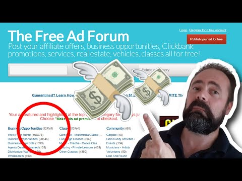 Free Classified Ads - How To Post Ads On Free Classifieds | Free Demo | Earn Money Online
