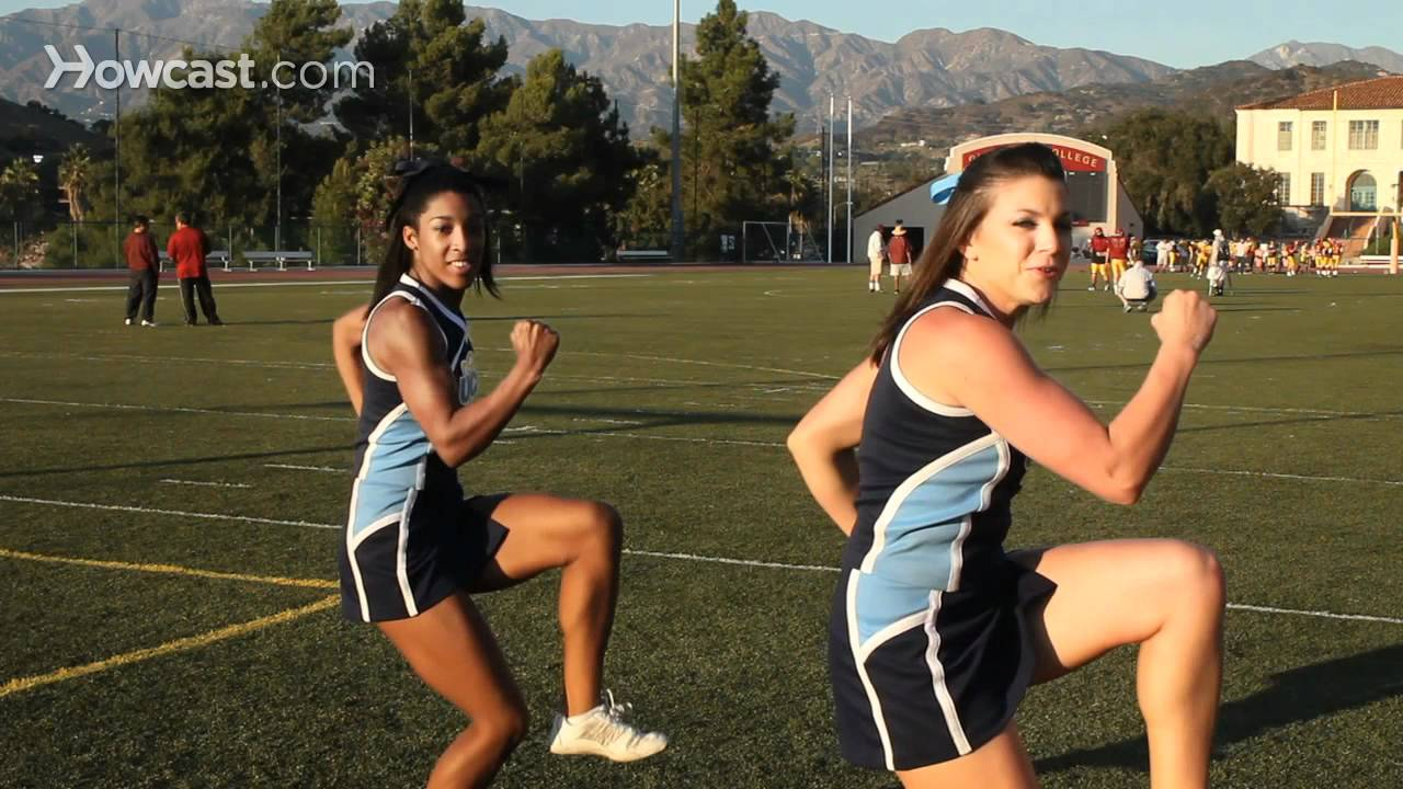 Cheer dance routine - step by step cheerleading dance ...