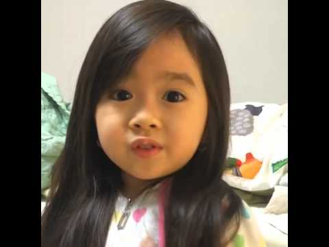 Asian Baby Says Good Night Cutest Video Ever Youtube