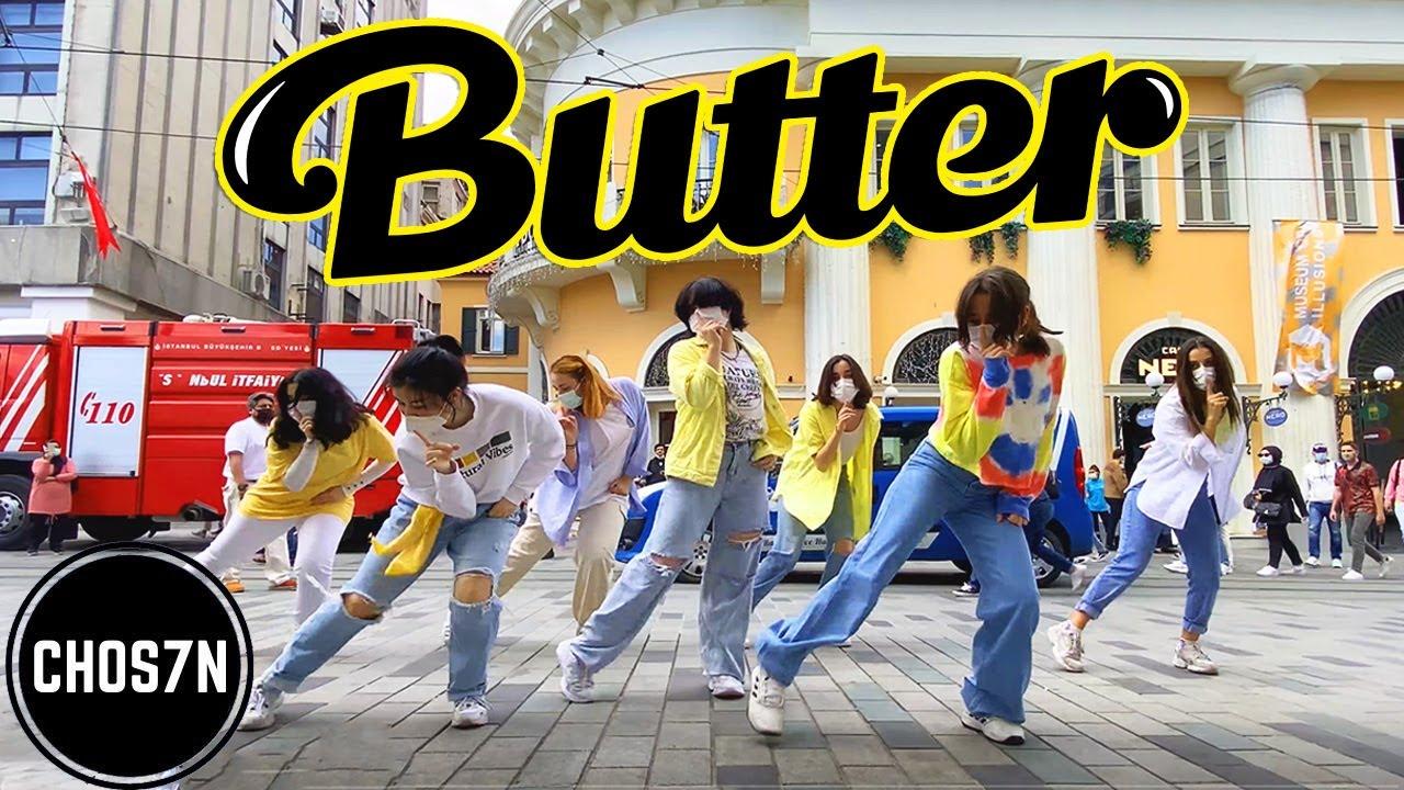 [KPOP IN PUBLIC TURKEY] BTS(방탄소년단) - 'BUTTER' Dance Cover by CHOS7N