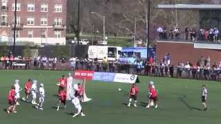 2014 Lacrosse Highlights - #9 Johns Hopkins Beats #3 Maryland