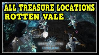 Download MHW Iceborne Rotten Vale All Treasure Locations - Ultimate Collector Trophy / Achievement Guide