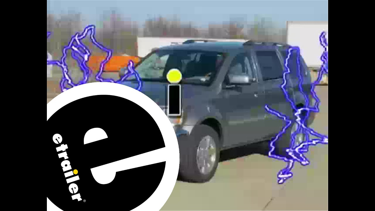 trailer wiring harness installation 2009 chrysler aspen etrailer rh youtube com