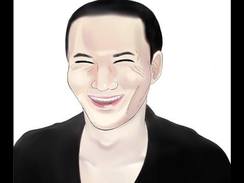 加藤純一(うんこちゃん)描いてみた