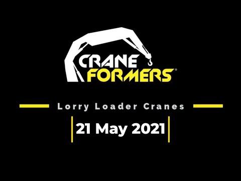 Craneformers Cover 21 May 2021   Lorry Loader Cranes   Hiab   Palfinger   Effer   Copma   Scania