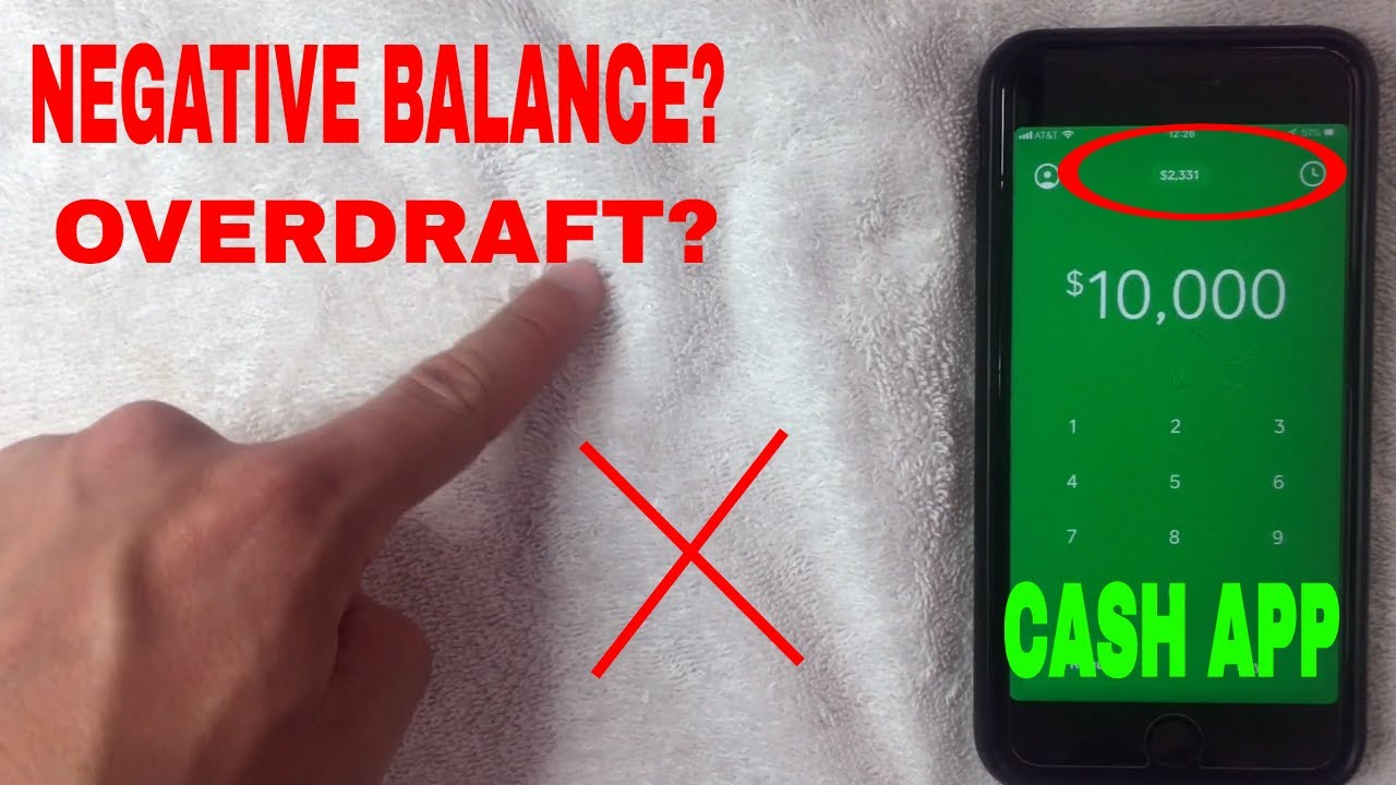 ✅ Can Cash App Balance Go Overdraft Negative? 🔴