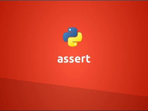 Assertions in Python