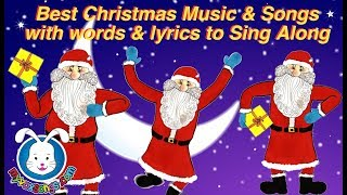 Best Christmas Songs & Christmas Carols with lyrics for kids & all the family to sing along