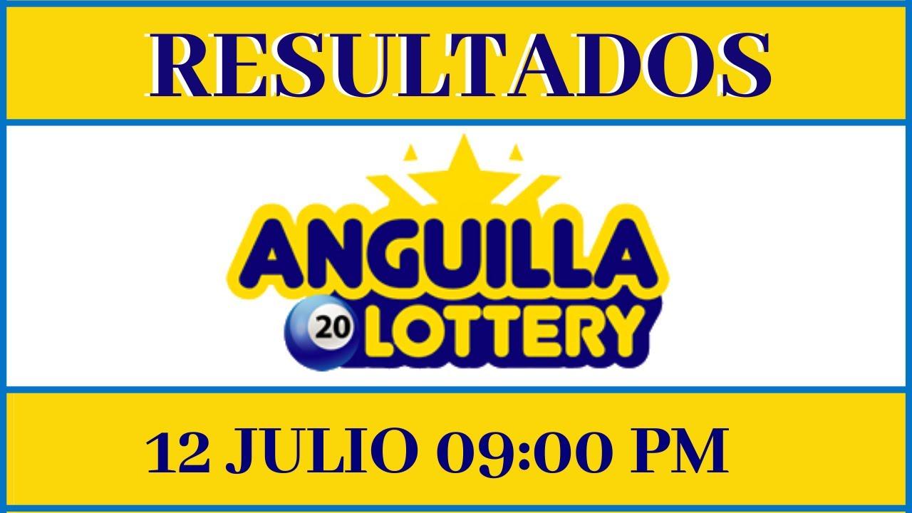 Resultados de la loteria Anguilla Lottery 09 PM de hoy 12 de julio del 2020