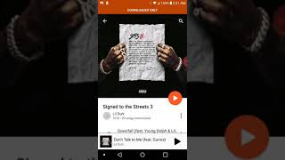 Lil Durk signed to the streets 3 album review