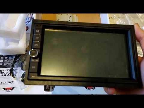 2din магнитола Cyclone MP-7049: обзор #2, распаковка, комплектация, разъёмы, внешний вид