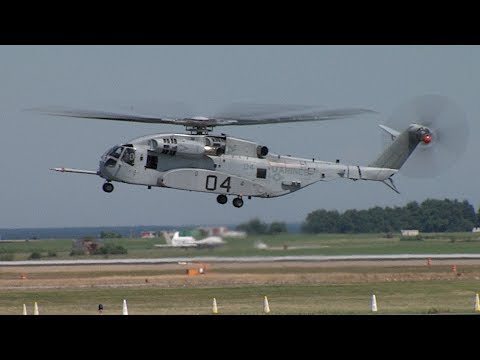 NAVAIR Clips: CH-53K Arrives at NAS Patuxent River
