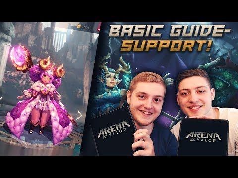 SO GEWINNT MAN JEDE LANE ZU ZWEIT! | Duo Lane mit Bruder! | Support Basic Guide | Arena of Valor