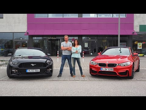 BMW M4 Coupé vs. Ford Mustang Fastback – GRIP – Folge 319 – RTL 2