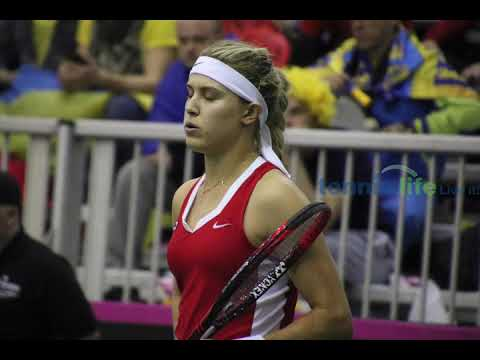Fed Cup win for Genie Bouchard