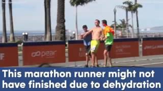 Good Samaritans help exhausted runner finish LA Marathon