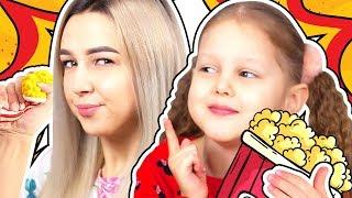 СКВИШИ против Настоящей Еды Челлендж Squishi vs Real Food Challenge Видео для детей Антистресс