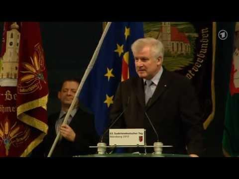 Seehofer (CSU) fordert Gedenktag für Vertriebene und Entschädigung für deutsche Zwangsarbeiter