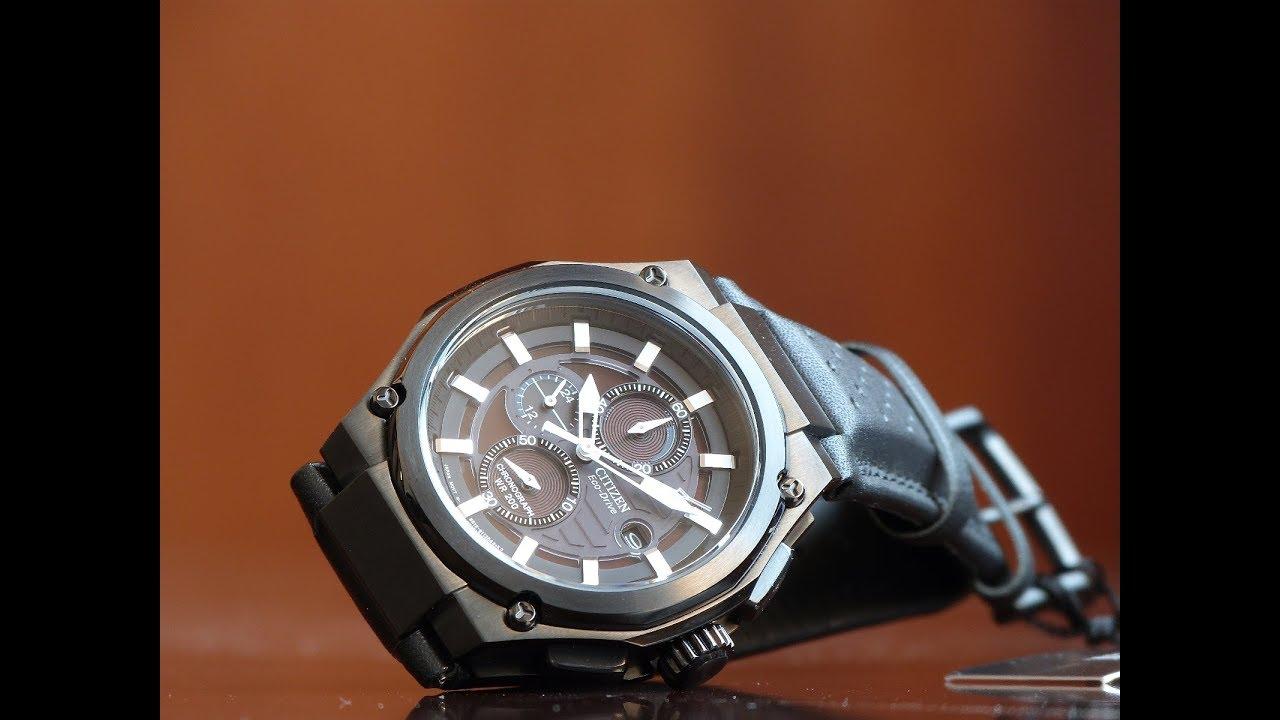 1758d927325 Relógio Citizen Eco-Drive CA0315-01E TZ30213J All Black 200M - YouTube