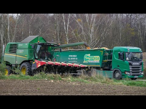 Kukurydza Na Ziarno 2020  John Deere W540 