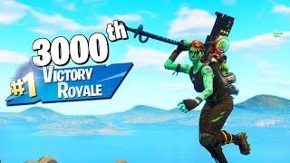 My 3000th WIN in Fortnite Battle Royale