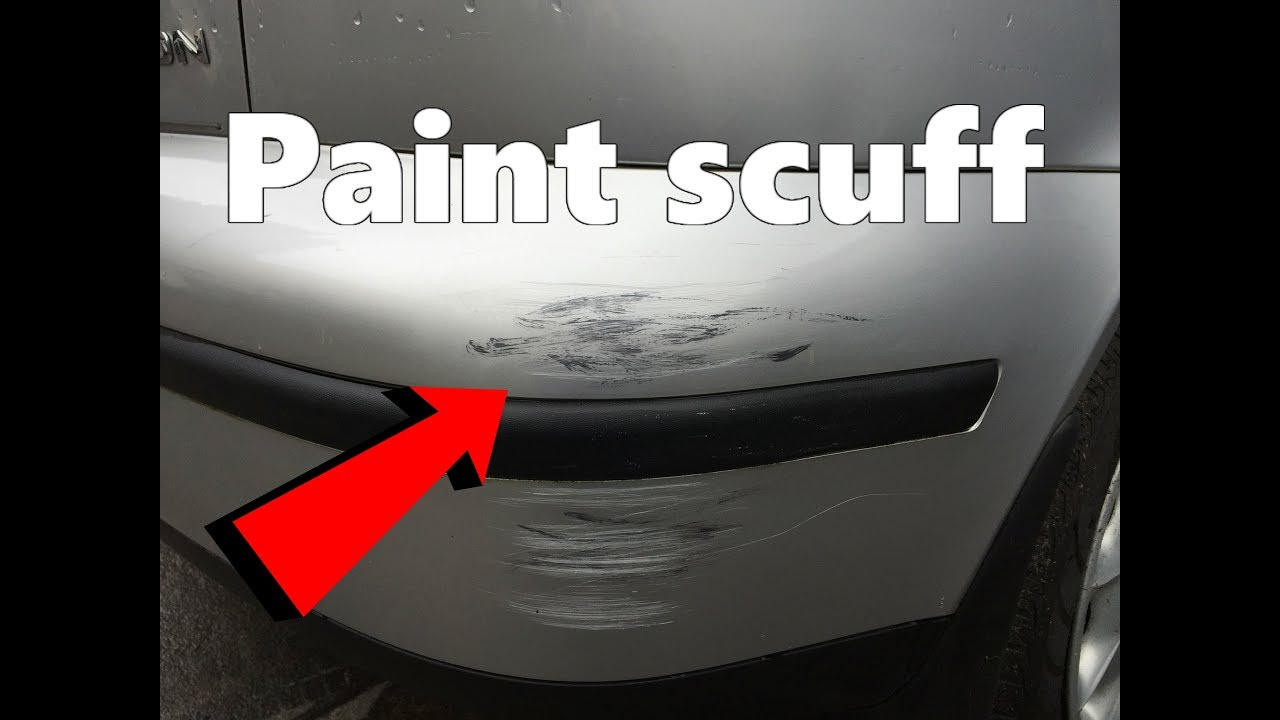 How to remove Paint Scuffs on your Car !! Diy