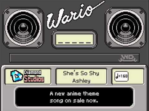 WarioWare DIY Ashley's Records - She's So Shy