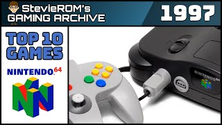 Top 10 Nintendo 64/N64 Games 1997