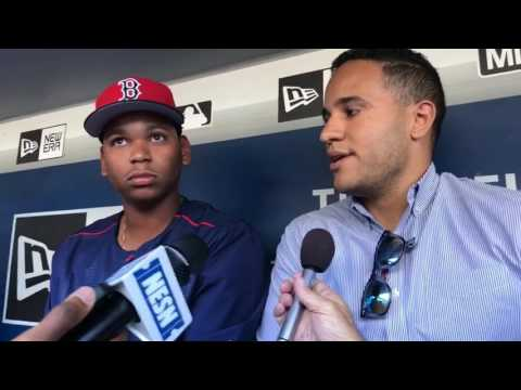 Rafael Devers will 'need continued development at the big league level,' but Red Sox still feel he's ready now (video)