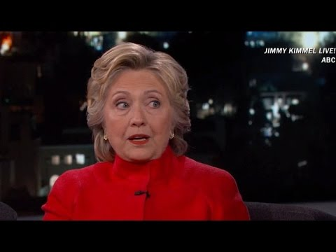 Hillary Clinton tries laughing off email scandal after FBI recovers 15,000 more