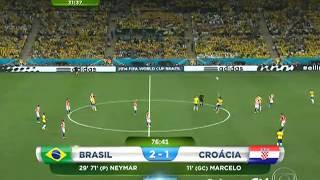 Brazil x Croacia 2 tempo
