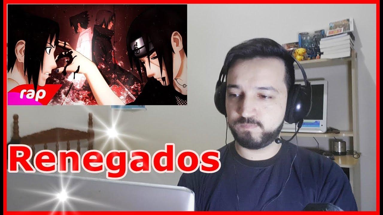 React Rap do Sasuke e Itachi (Naruto) - A CANÇÃO DOS RENEGADOS - NERD HITS (7minutoz)