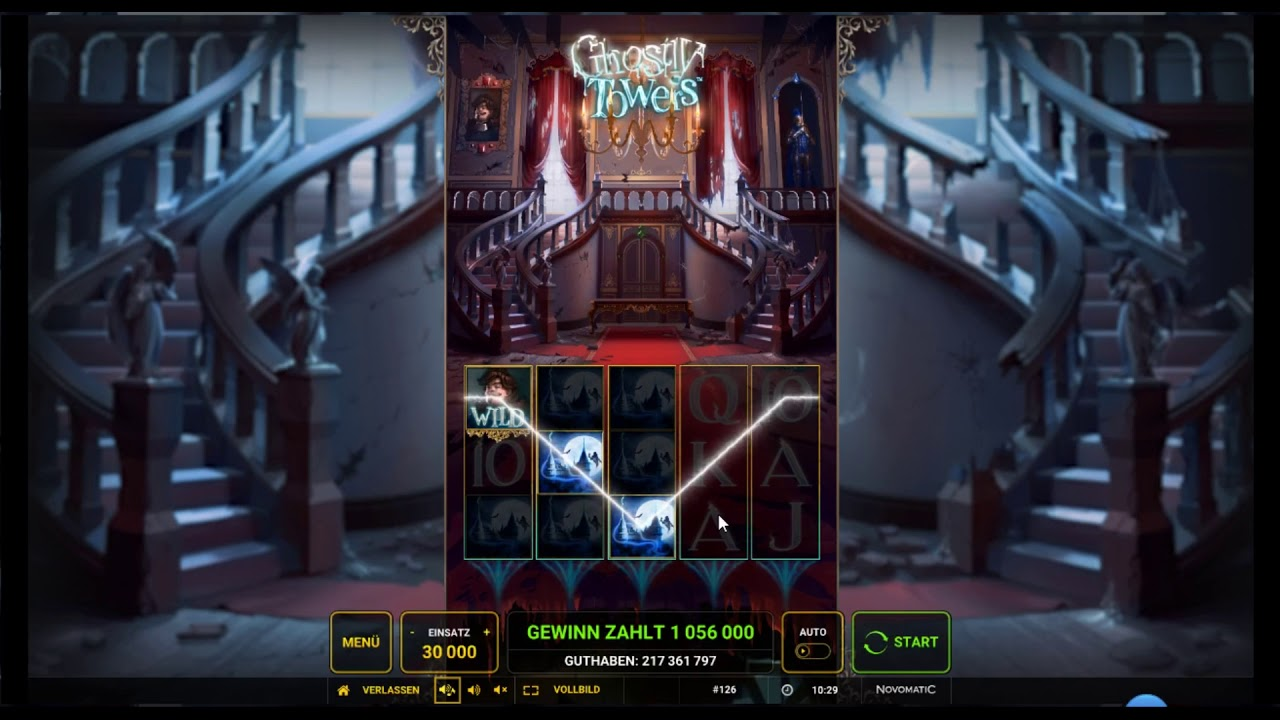 Ghostly Towers Slot Machine
