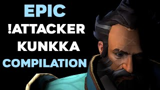 The Reason Why Pro Players Fear His Kunkka: !Attacker