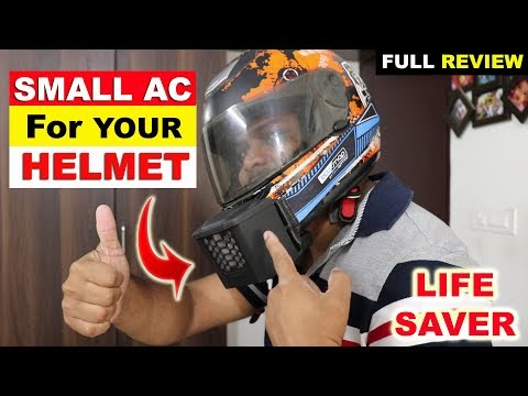 HELMET AC  Life Saver this Summer  Full Review