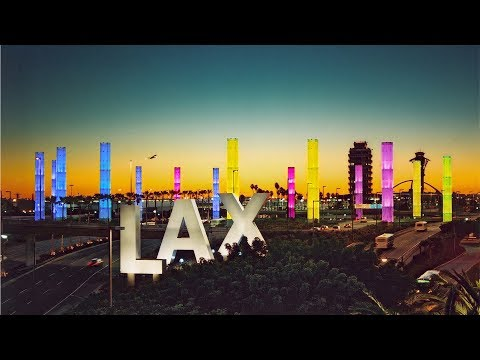 My First Time Flying Across Country. | LAX to D.C.