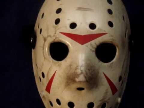 Friday The 13th Part 3 Hockey Mask Project 82 By Crash Cunningham