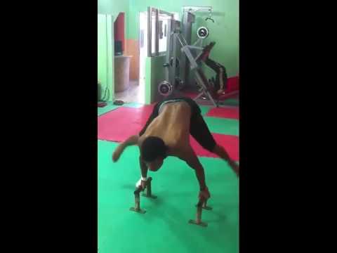 Planch douzi workout