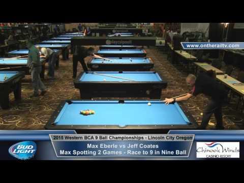 Max Eberle vs Jeff Coates - 9 Ball Money Game