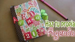Cómo hacer y encuadernar tu propia agenda - floritere - 2014 thumbnail