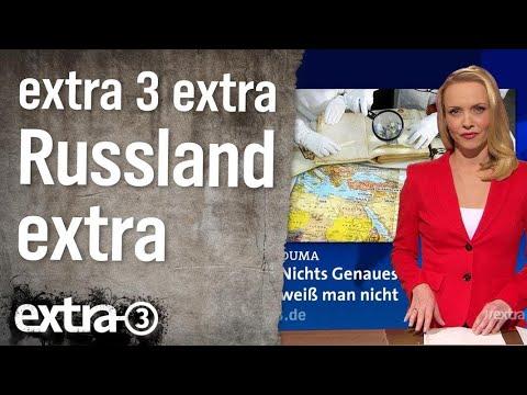 extra 3 Extra: Russland extra | extra 3 | NDR