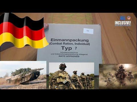 СухПай Армии Германии.
