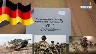 СухПай Армии Германии. Сухой паёк NATO Германия. ИРП Вар. 7 Один из лучших!