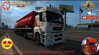 Euro Truck Simulator 2 (1.36)   Kamaz 5490 Neo Delivery to Craiova Romania DLC Road to the Black Sea by SCS Software + DLC's & Mods  Support me please thanks Support me economically at the mail vanelli.isabella@gmail.com  Roadhunter Trailers Heavy Cargo