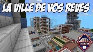 Map aventure Minecraft   La  ville de vos rêves