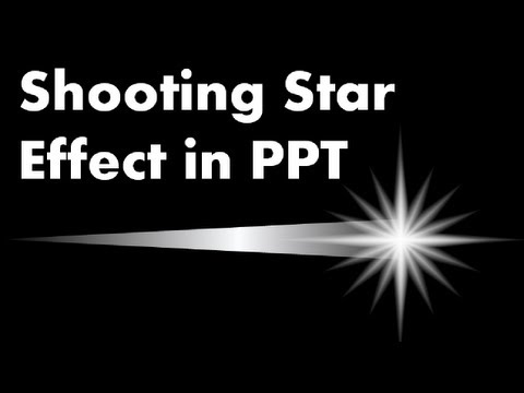 Advanced powerpoint animation tutorial how to make a shooting star advanced powerpoint animation tutorial how to make a shooting star effect youtube toneelgroepblik Image collections