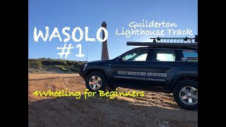 WASOLO #1 The Guilderton Lighthouse Track 4Wheeling for Beginners.