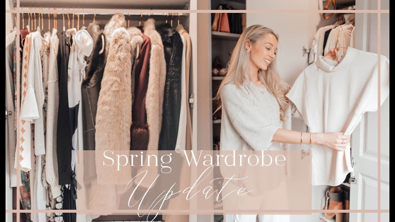 HOW TO UPDATE YOUR WARDROBE FOR SPRING    Clearout   Organisation      FashionMumblrSpringEdit  fashionmumblrpresets